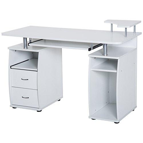 HomCom Home Office / Dorm Room Computer Desk