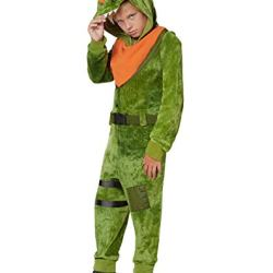 Kids Fortnite Plush Rex Costume - M/L