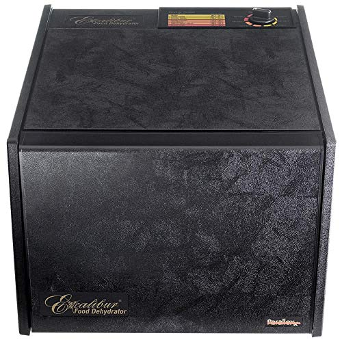 Excalibur Food Tray Deluxe Dehydrator, Black