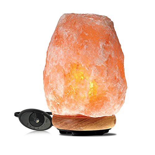 Himalayan Glow 1002 Pink Crystal Salt Lamp, (8-11 Lbs)