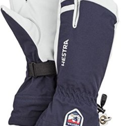 Hestra Mens and Womes Ski Gloves: Army Leather 3