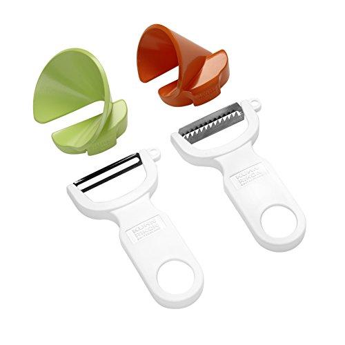 Kuhn Rikon Click-N-Curl Spiralizer Set with Swiss