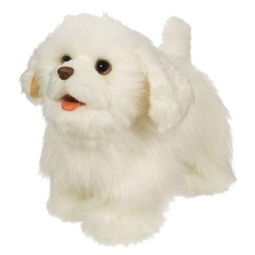 FurReal Friends Gogo's Walkin' Puppies White Spaniel Figure