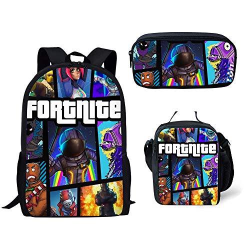 Fortnite School Backpack Lunch Bag Pencil Bag