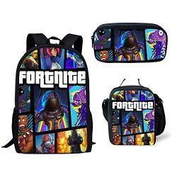 Fortnite School Backpack Lunch Bag Pencil Bag