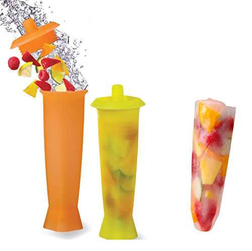 Prodyne FI-8 Infuse & Chill Fruit Infusion Ice Molds, Set of 2