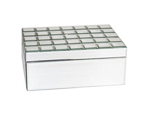 Sagebrook Home Decorative Mirrored Storage Box