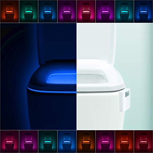 LumiLux Advanced 16-Color Motion Sensor LED Toilet Bowl Night