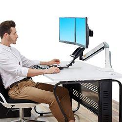 North Bayou Sit Stand Desk Converter Height Adjustable