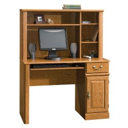 Sauder Orchard Hills Computer Desk with Hutch