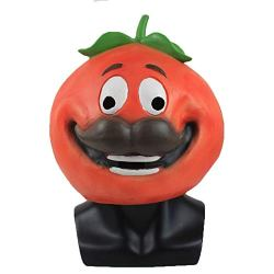 Xmecos Game Tomato Mask Full Face Latex Masks
