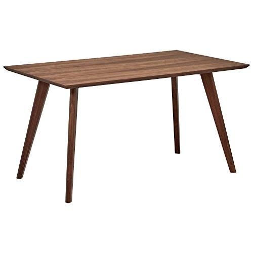 Rivet Mid-Century Minimalist Dining Table