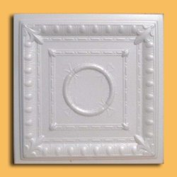 Ancona White (Foam) Ceiling Tile - 40pc Box