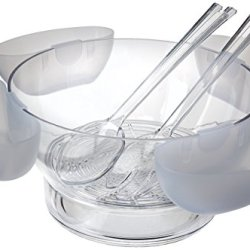 Prodyne Orbit Bowl On Ice with 4 Side Servers