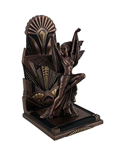 Veronese Resin Decorative Bookends The Winged Woman