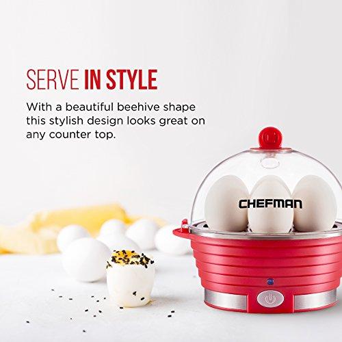 Chefman Electric Egg Cooker/Boiler, Rapid Egg Maker