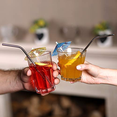 Stainless Steel Straw Eco-Friendly Set of 8