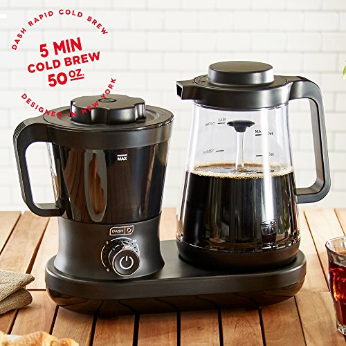 Dash Rapid Cold Brew Coffee Maker with Easy Pour Spout