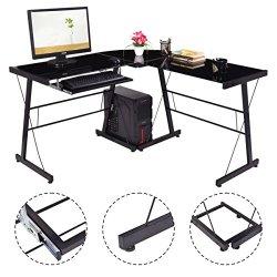 L-Shape Computer Desk PC Laptop Table