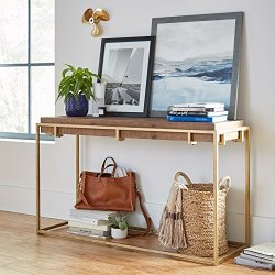 Stone & Beam Sparrow Industrial Console Table