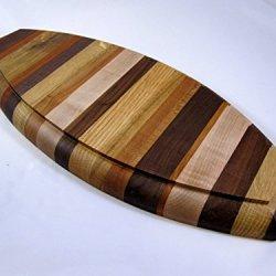 Boat hull shaped board platter Charcuterie board