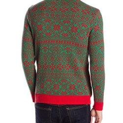 Blizzard Bay Men's Unicorn Vomit Ugly Christmas Sweater