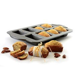 Norpro Nonstick Mini Loaf Pan, 8 Count