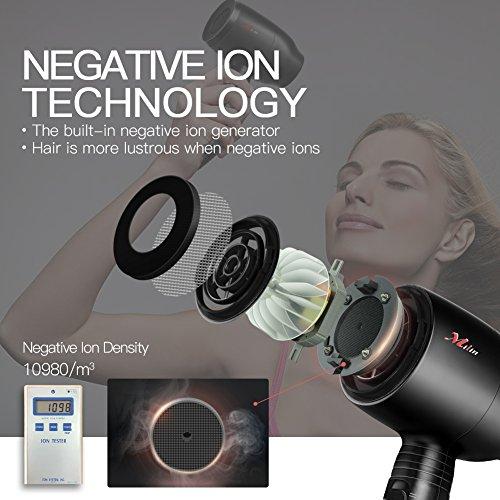 Ceramic Hair Dryer Infrared Negative Ions Hair Blow Dryer