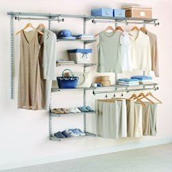 Rubbermaid Configurations Deluxe Custom Closet Organizer