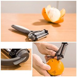 Multifunctional 360 Degree Rotary Potato Peeler