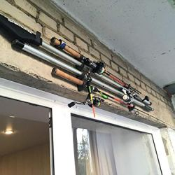 YYST Horizontal Fishing Rod Storage Rack Hold
