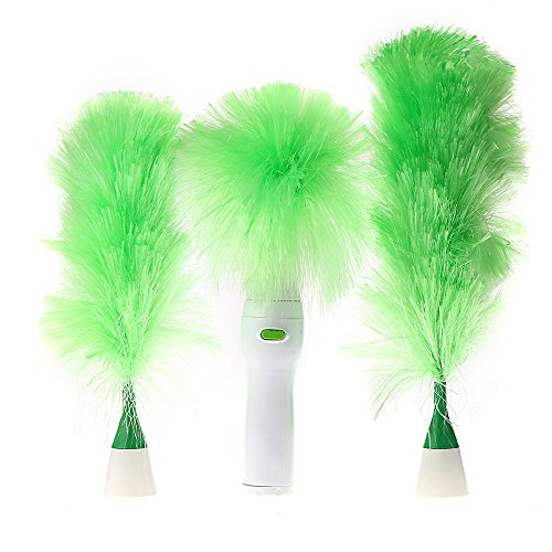 Electric Duster Set Motorized Cleaning Brush