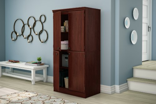 South Shore Tall 4-Door Storage Cabinet