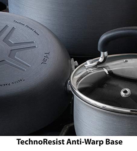 T-fal Ultimate Hard Anodized Titanium Thermo