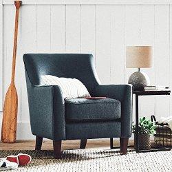 Stone & Beam Cheyanne Modern Accent Chair, Denim