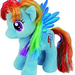 Ty UK 10-inch My Little Pony Rainbow Dash Buddy