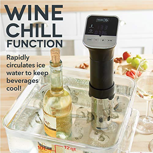 Dash Chef Series Stainless Steel Sous Vide Immersion Circulator