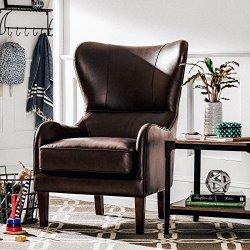 Stone & Beam Deco Mid-Century Modern Leather