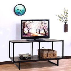 Tangkula TV Stand/Coffee Table Entertainment Center