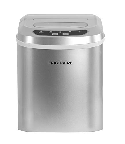 Frigidaire Counter Top Ice Maker, Silver, 26lb per day
