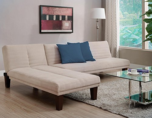 DHP Dillan Convertible Futon Couch Bed
