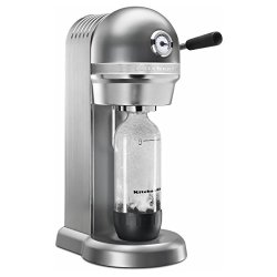 KitchenAid Sparkling Beverage Maker, Contour Silver