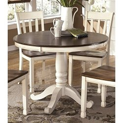 Ashley Whitesburg Round Dining Table in Brown