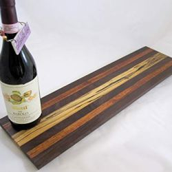 Charcuterie cheese long board, Spalted Maple serving cutting board