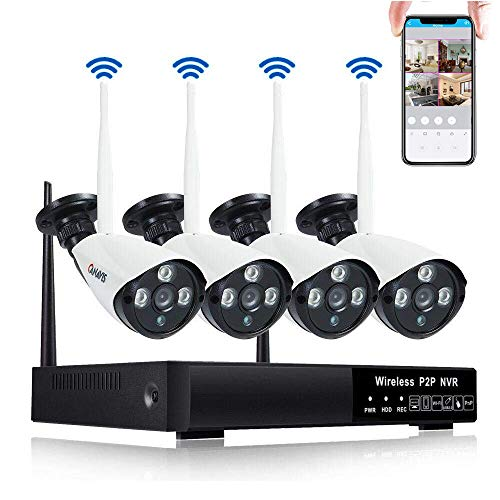 CANAVIS Security Camera System Wireless