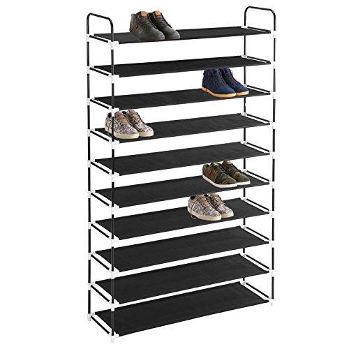 MaidMAX 10 Tiers Free Standing Shoe Rack