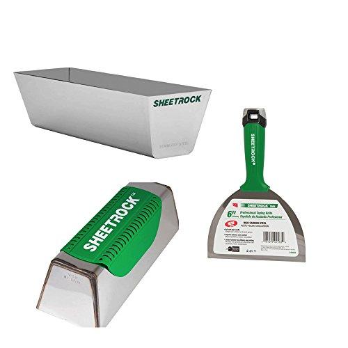 USG Sheetrock Pro Drywall Taping Combo with Mud Pan