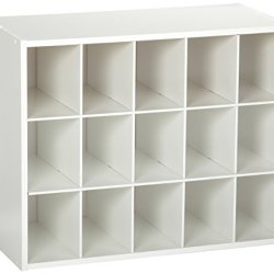 ClosetMaid Stackable 15-Unit Organizer, White