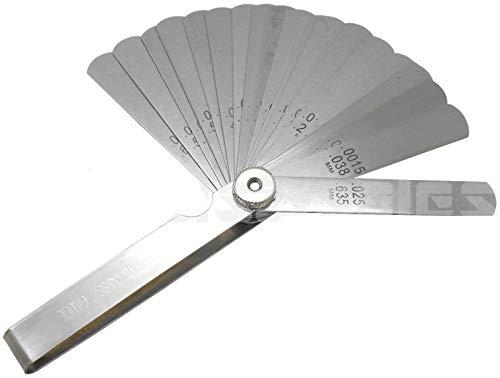 26 Blade Master Feeler Thickness Gauge 25 Leaf Blades