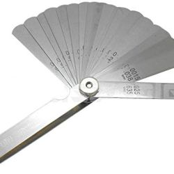 26 Blade Master Feeler Thickness Gauge 25 Leaf Blades